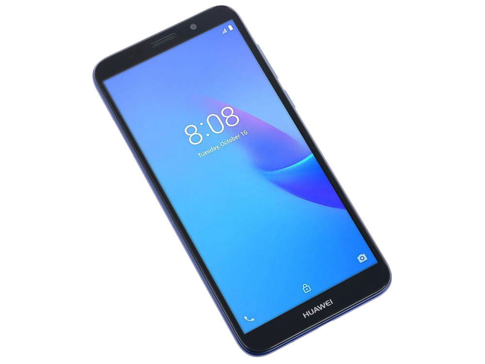 Смартфон Huawei Y5 2018 Lite Blue MediaTek MT6739 (1.5)/16 Gb/1 Gb/5.45 (1440x720)/4G/BT/Android 8.1 huawei p20 lite 64gb 4g pink смартфон