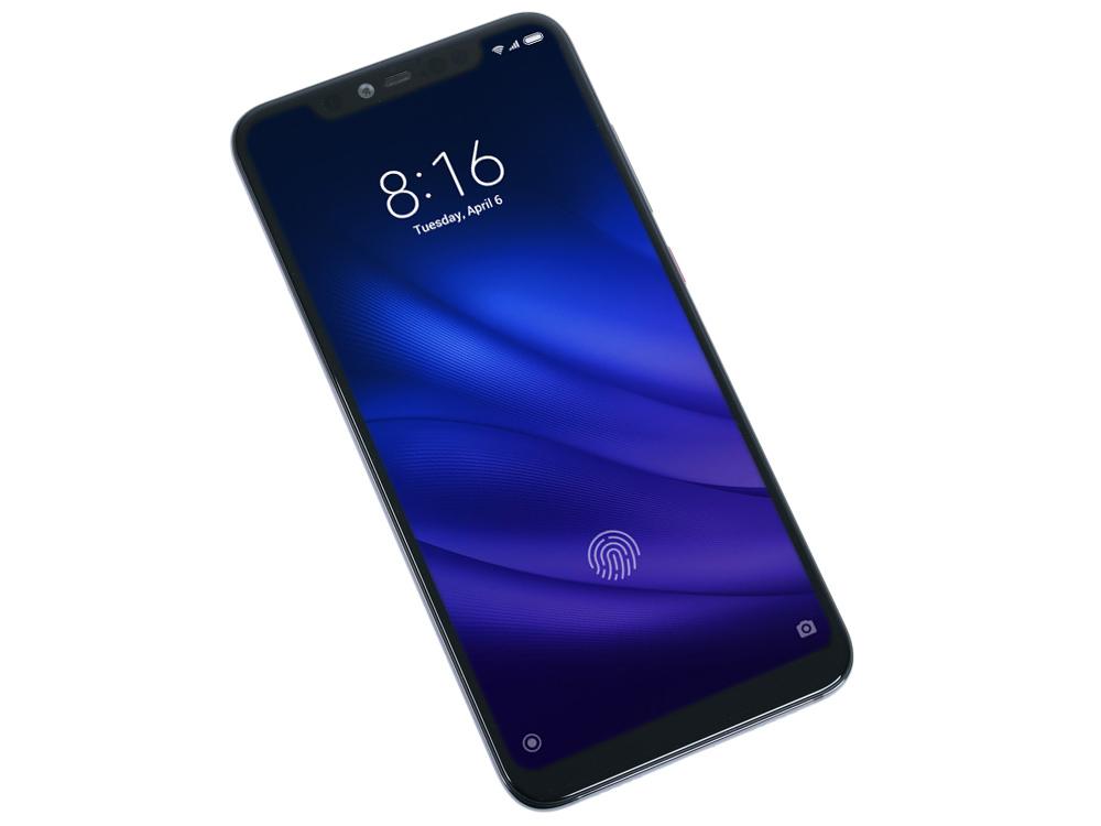 Смартфон Xiaomi Mi 8 Pro (Transparent Titanium) Snapdragon 845 (2.8) / 8GB / 128GB / 6.21 2248x1080 S.AMOLED / 12Mp + 12Mp, 20Mp / 2Sim / 3G / 4G LTE / NFC / FPR / Android 8.1 pda3501 1d 2d laser barcode scanner portatif android handheld terminal reader wifi rugged phone data collector 3 5 pda nfc 3g