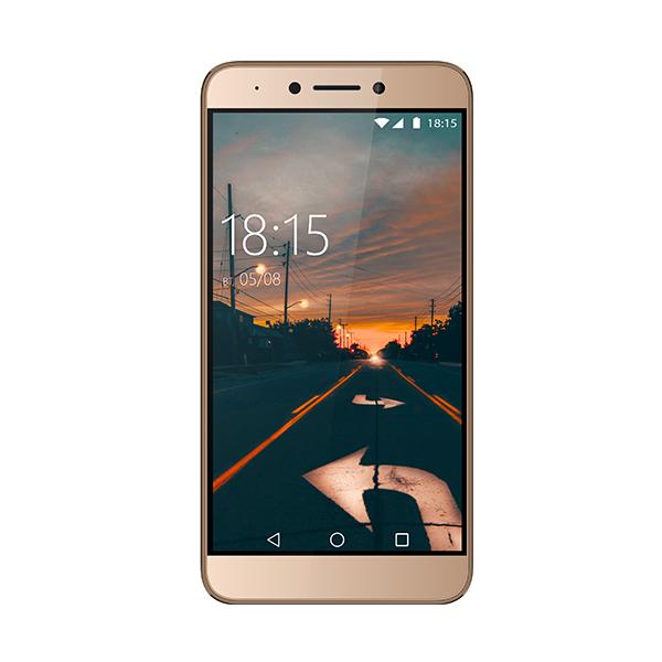 Смартфон BQ-5517L Twin Pro Золотой MediaTek MT6750 (1.5)/32 Gb/4 Gb/5.5 (1920x1080)/DualSim/3G/4G/BT/Android 8.1 смартфон alcatel a3 xl 9008d sideral gray silver mediatek mt8735b 1 гб 8 гб 6 1280x720 dualsim 3g 4g 8mpix 5mpix bt android 7 0