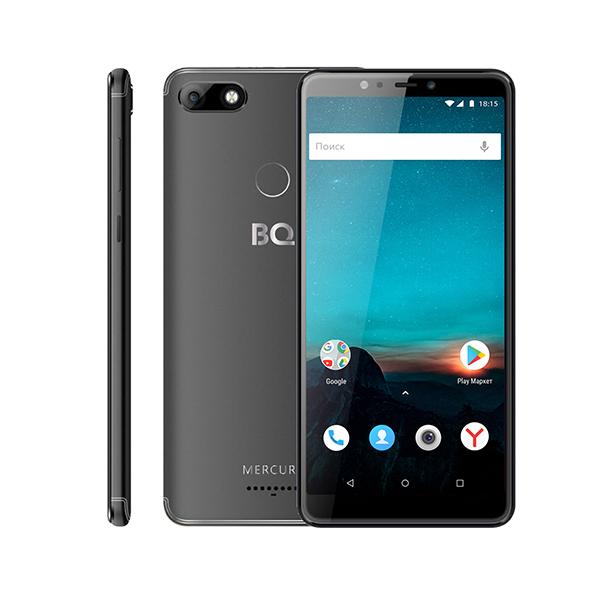 Смартфон BQ-6016L Mercury Чёрный MediaTek MT6739 (1.3)/16 Gb/2 Gb/6 (1440x720)/DualSim/3G/4G/BT/Android 8.1 смартфон huawei mate 20 lite sne lx1 blue hisilicon kirin 710 2 2 64 gb 4 gb 6 3 2340x1080 dualsim 3g 4g bt android 8 1