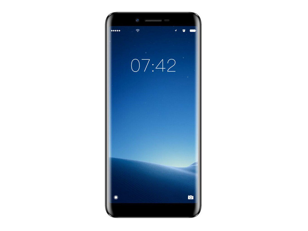 Смартфон Doogee X60 (Matte Black) MediaTek MT6580M (1.3) / 1GB / 8GB / 5.5'' 960x480 IPS / 8Mp+5Mp, 5Mp / 2Sim / 3G / Android 7.1 смартфон bq 5033 shark black mediatek mt6580 1 3 1gb 8gb 5 0 1280х720 ips 2sim 8mp 8mp cam ip65 android 7 0