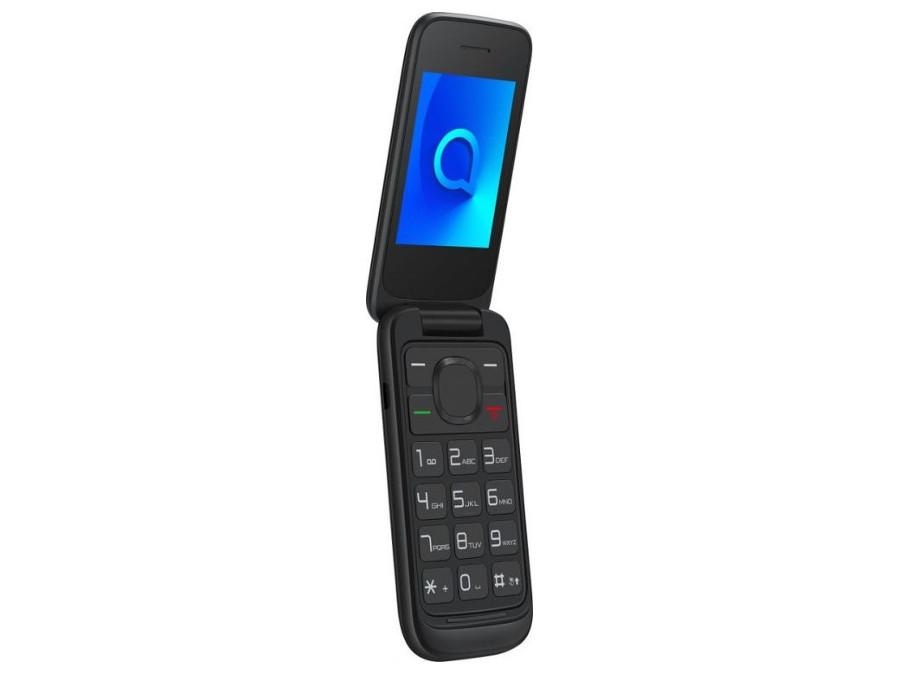 Мобильный телефон Alcatel 2053D OneTouch черный раскладной Spreadtrum SC6531E/2.4 (240 x 320)/DualSim/BT 2.1 мобильный телефон lg x power 2 m 320 золотистый