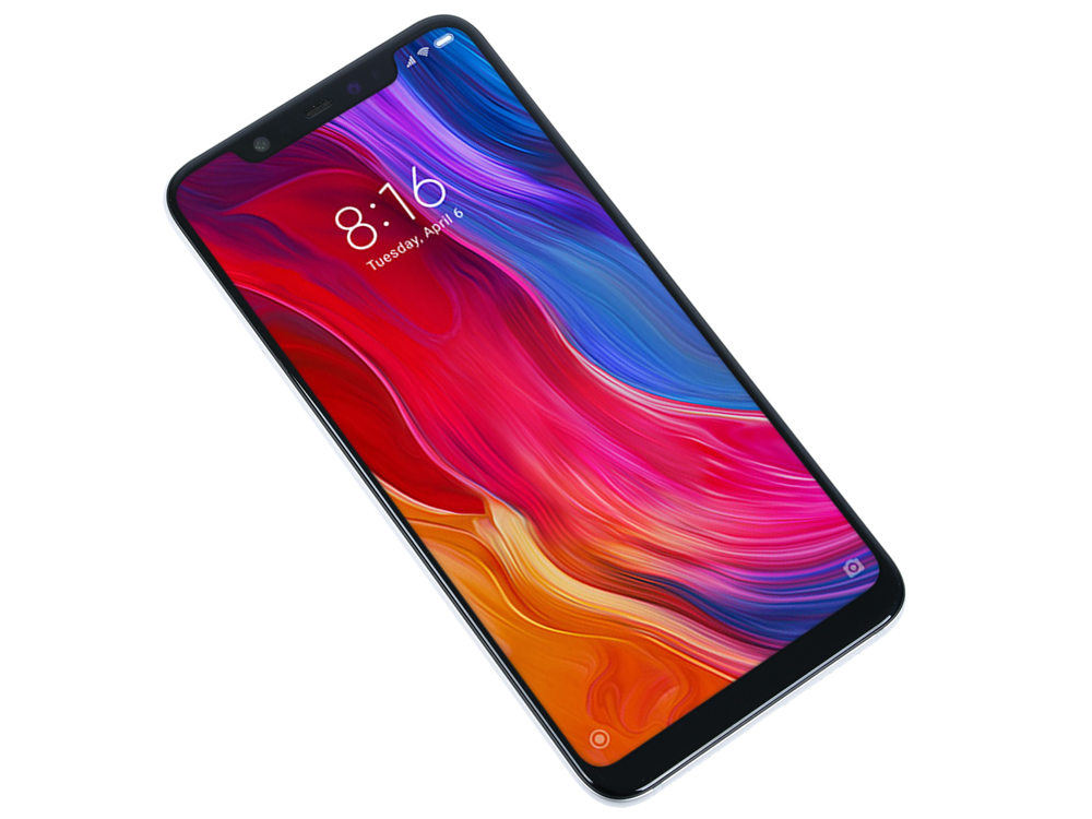 Смартфон Xiaomi Mi 8 64 white 8 Core(2.8GHz)/6GB/64GB/6.21 2248x1080/12Mp+12Mp/20Mp/2 Sim/3G/LTE/IRDA/BT/Wi-Fi/NFC/GPS/Galileo/Glonass смартфон bq aquaris u2 черный 5 2 16 гб nfc lte wi fi gps 3g c000291