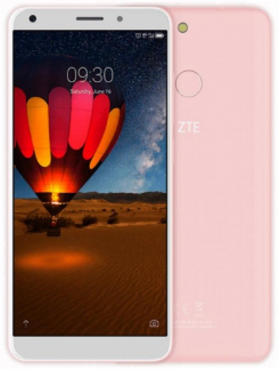 Смартфон ZTE Blade V9 (3+32) VITA Pink Qualcomm Snapdragon 435 (1.4)/3GB/32GB/5.45 (1440x720)/13Mp+2Mp/8Mp/3G/4G/Android 8.1 смартфон bq 5700l space x black qualcomm snapdragon 430 1 4 3gb 32gb 5 7 1440х720 ips 2sim 4g lte fpr 16mp 20 8mp cam android 7 1