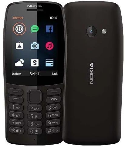 Мобильный телефон NOKIA 210 DS Black TA-1139, 2.4