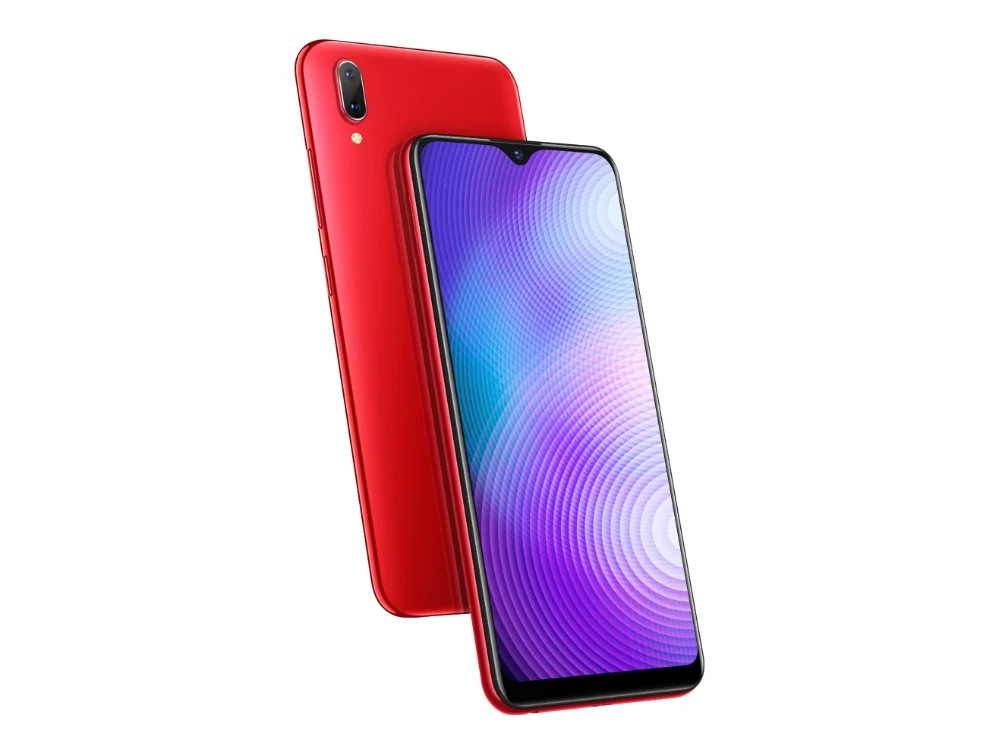 Смартфон Vivo (Red) MediaTek Helio P22 (2.0) / 3GB / 64GB / 6.22 1520x720 IPS / 2Sim / 3G / 4G LTE / 13Mp + 2Mp, 8Mp / Android 8.1 смартфон bq 5700l space x black qualcomm snapdragon 430 1 4 3gb 32gb 5 7 1440х720 ips 2sim 4g lte fpr 16mp 20 8mp cam android 7 1