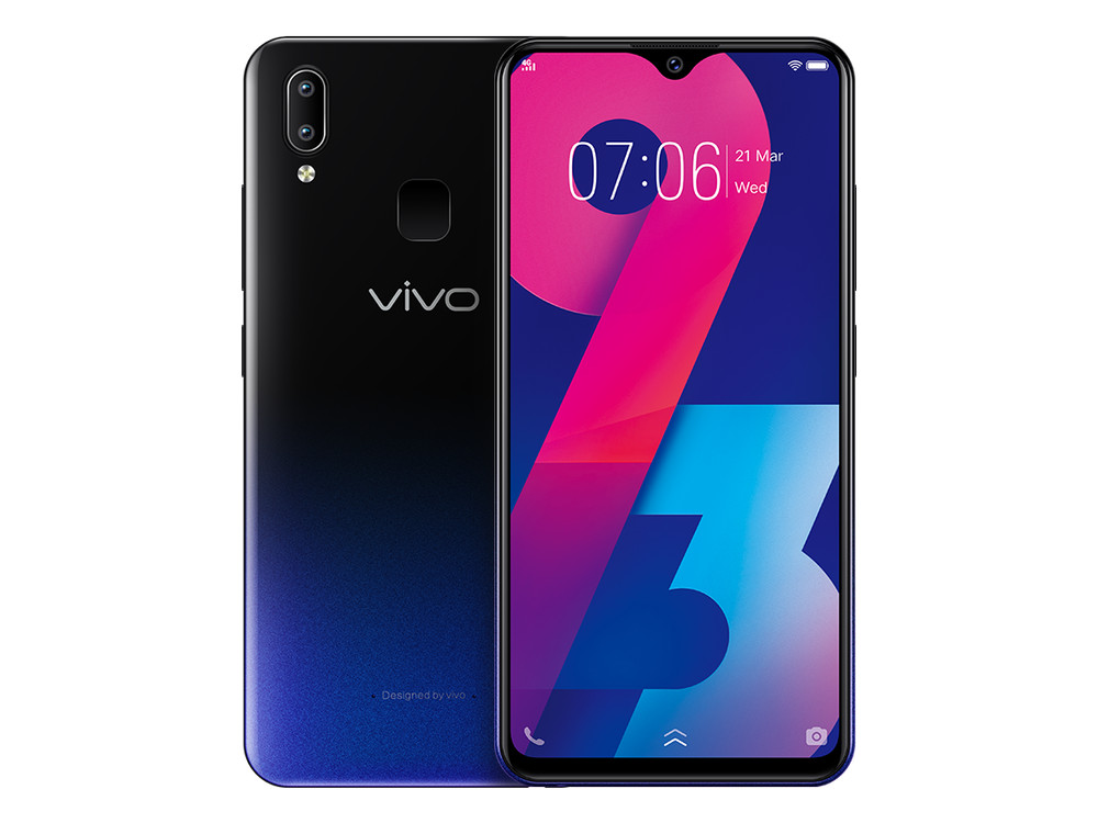 Смартфон Vivo Y93 (Black) MediaTek Helio P22 (2.0) / 4GB / 32GB / 6.22