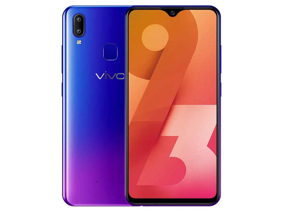 Смартфон Vivo Y93 (Violet) MediaTek Helio P22 (2.0) / 4GB / 32GB / 6.22 1520x720 IPS / 2Sim / 3G / 4G LTE / 13Mp + 2Mp, 8Mp / Android 8.1 смартфон bq 5700l space x black qualcomm snapdragon 430 1 4 3gb 32gb 5 7 1440х720 ips 2sim 4g lte fpr 16mp 20 8mp cam android 7 1