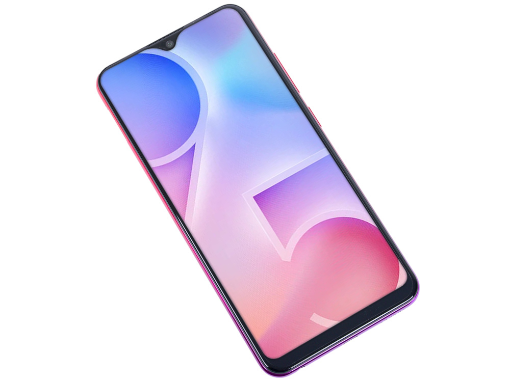 Смартфон Vivo Y95 (Red) Snapdragon 439 (1.95) / 4GB / 64GB / 6.22 1520x720 IPS / 2Sim / 3G / 4G LTE / 13Mp + 2Mp, 8Mp / Android 8.1 смартфон bq 5700l space x black qualcomm snapdragon 430 1 4 3gb 32gb 5 7 1440х720 ips 2sim 4g lte fpr 16mp 20 8mp cam android 7 1