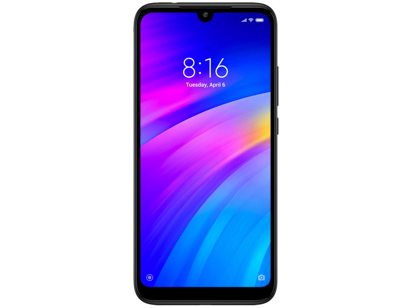 Смартфон Xiaomi Redmi 7 (Black) Qualcomm Snapdragon 632 (1.8)/3 Gb/32 Gb/6.26 (1520 x 720)/DualSim/LTE/noNFC/BT 4.2/Android 9.0 смартфон xiaomi mi 8 64 black qualcomm snapdragon 845 2 8 1 7 64 gb 6 gb 6 21 2248x1080 dualsim 3g 4g bt android 8 1