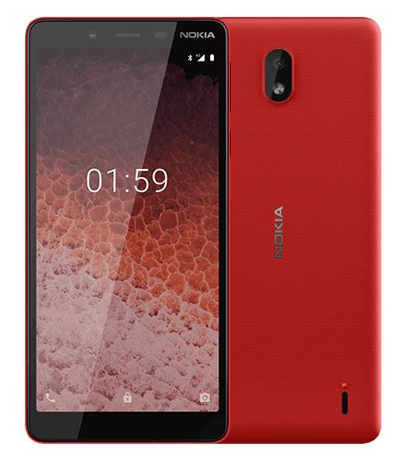 Смартфон Nokia 1 PLUS DS TA-1130 Red