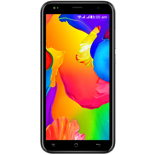 Смартфон teXet TM-5077 черный Spreadtrum SC9832E (1.4)/2 Gb/16 Gb/5 (960 x 480)/DualSim/LTE/noNFC/BT 4.2/Android 8.1 смартфон texet m 5071 черный смартфон