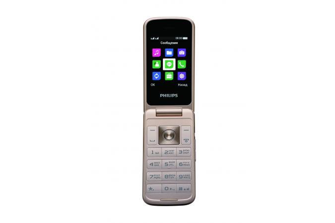 Мобильный телефон Philips E255 черный 2.4 philips she3555 черный