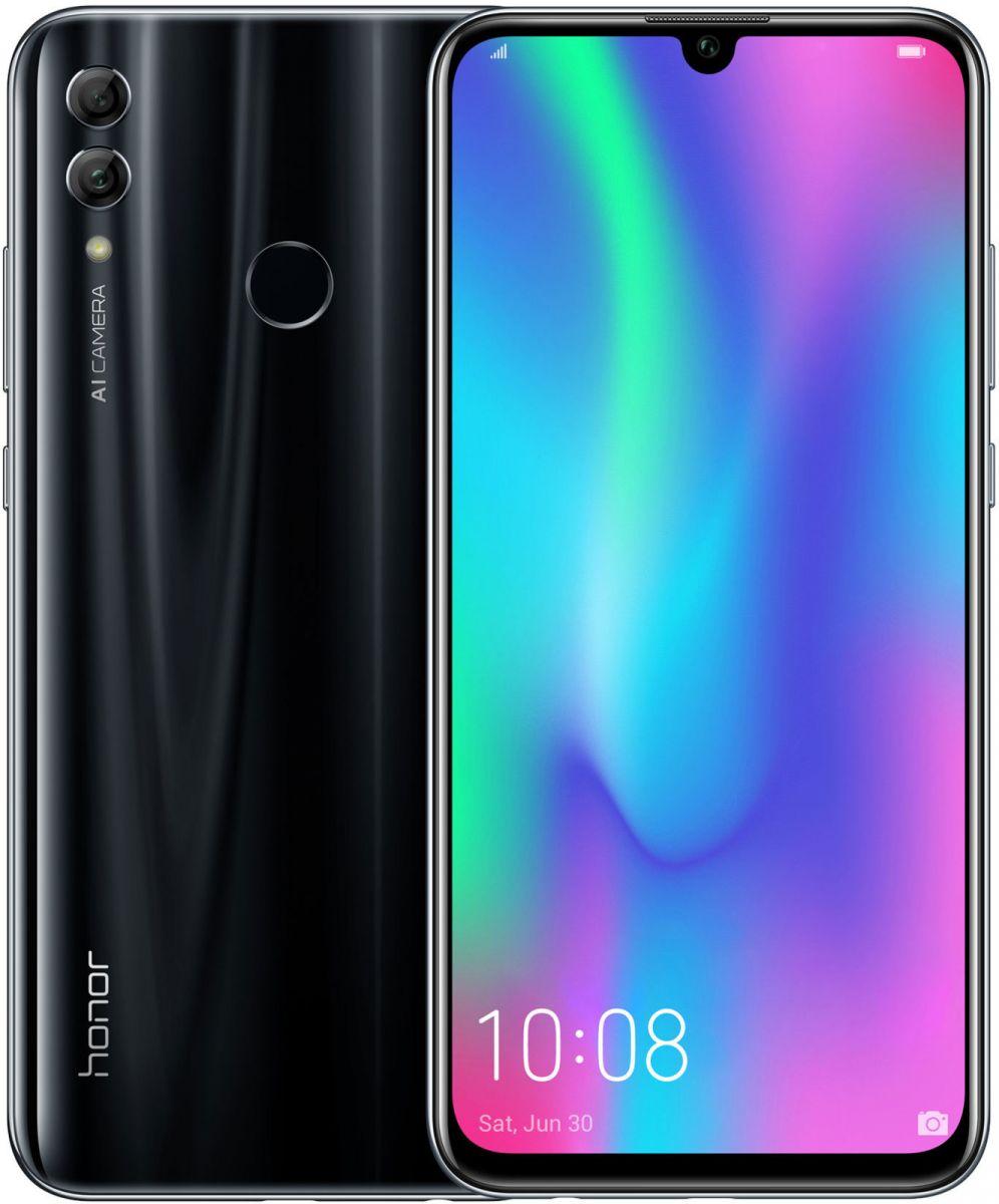 Смартфон Honor 10 Lite (51093FPY) 32Gb черный HiSilicon Kirin 710 (2.2)/32 Gb/3 Gb/6.21 (2340x1080)/DualSim/3G/4G/BT/Android 9 смартфон huawei mate 20 lite sne lx1 blue hisilicon kirin 710 2 2 64 gb 4 gb 6 3 2340x1080 dualsim 3g 4g bt android 8 1