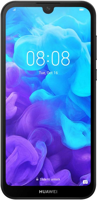 """Смартфон Huawei Y5 2019 черный 3G 4G 5.71"""" And9 802.11abgn GPS"""