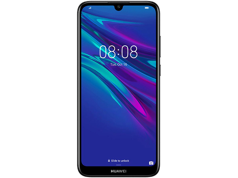 Смартфон Huawei Y6 2019 (Modern Black) MediaTek Helio A22 (2.0) / 2GB / 32GB / 6.1 1560x720 IPS / 2Sim / 3G / 4G LTE / 13Mp, 8Mp / Android 8.0 смартфон doogee x60 matte black mediatek mt6580m 1 3 1gb 8gb 5 5 960x480 ips 8mp 5mp 5mp 2sim 3g android 7 1
