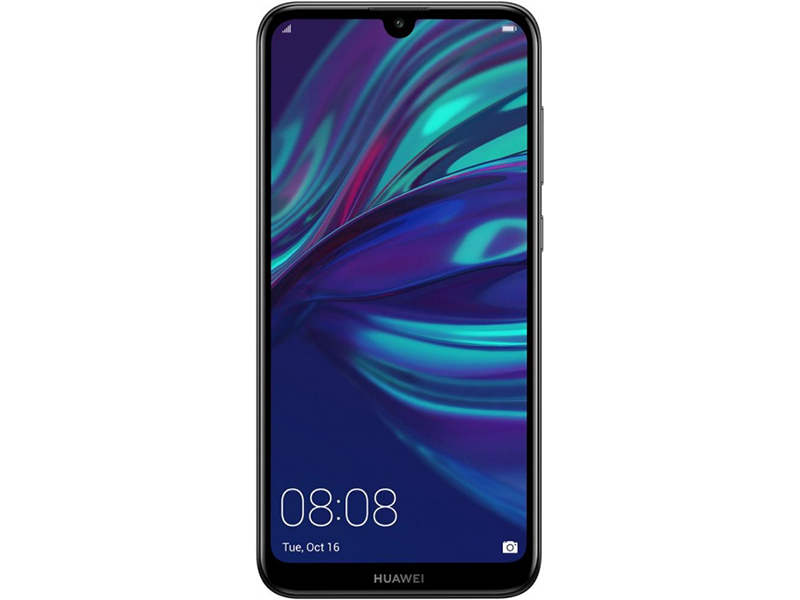 Смартфон Huawei Y7 2019 (Midnight Black) Snapdragon 450 (1.8) / 3GB / 32GB / 6.26 1520x720 IPS / 2Sim / 3G / 4G LTE / 13Mp + 2Mp, 8Mp / Android 8.1 смартфон huawei mate 20 t045340 midnight blue