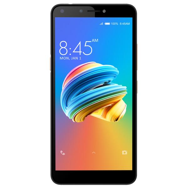 Смартфон Itel A45 Midnight Black/черный MediaTek MT6739 (1.3)/1 Gb/8 Gb/5.45 (1440 x 720)/DualSim/LTE/noNFC/BT/Android 8.1 смартфон bq 5058 strike power easy grey mediatek mt6580m 1 3 8 gb 1 gb 5 854x480 dualsim 3g bt android 6 0