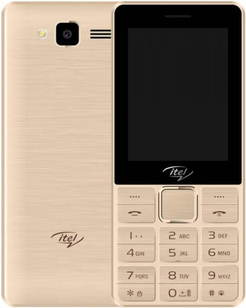 Мобильный телефон Itel IT5630 Champagne Gold/золотой Spreadtrum SC66531/64 Gb/64 Mb/2.8 (320 x 240)/DualSim/noLTE/noNFC/BT мобильный телефон xiaomi redmi s2 4 64 gb dark gold