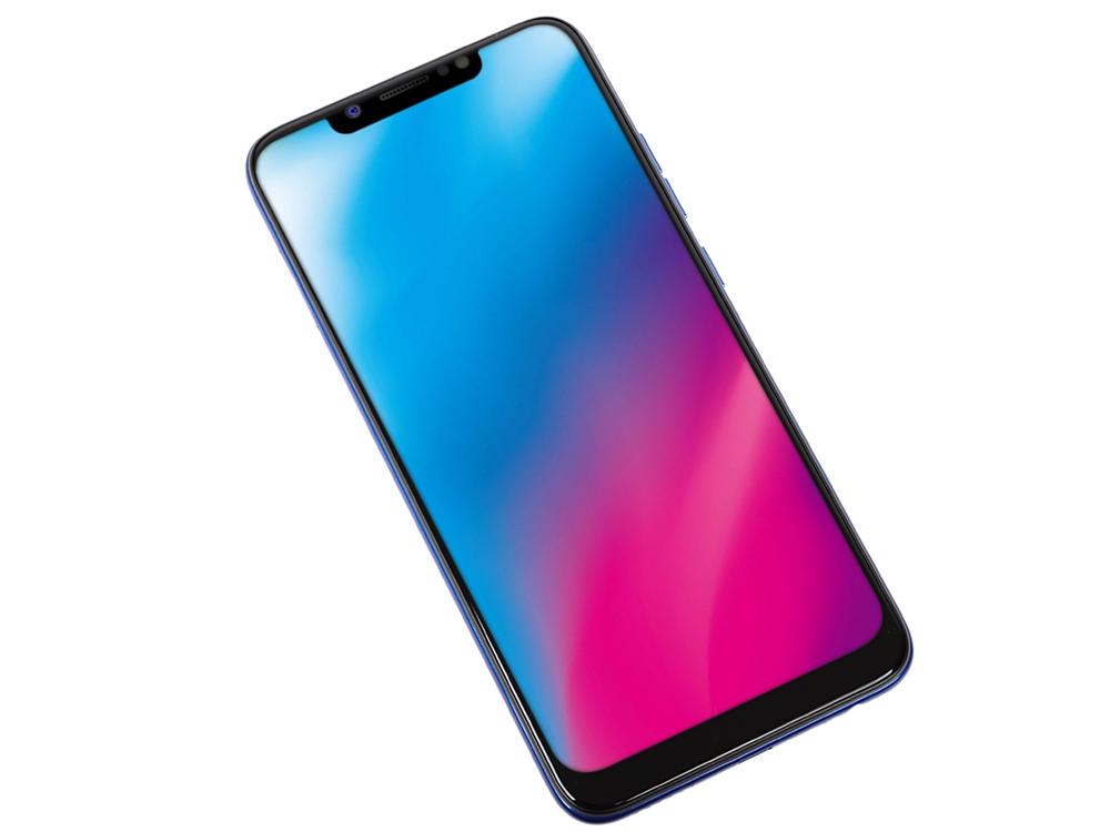 Смартфон Tecno Camon 11 (CF7) Aqua Blue/голубой Blue MediaTek MT6739WW (1.5)/2 Gb/16 Gb/6.2
