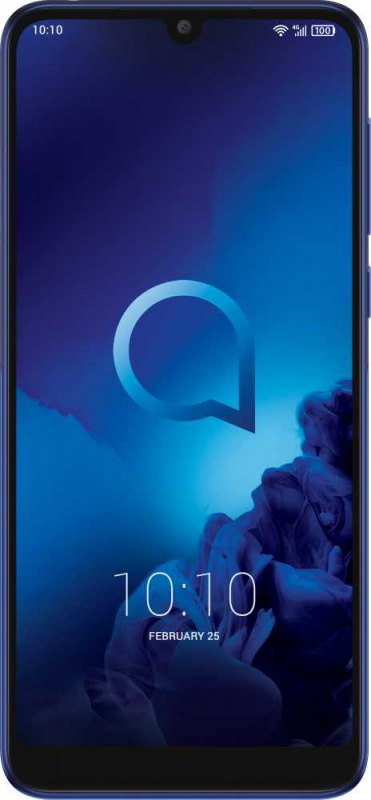 "Смартфон Alcatel 5039D Metallic Blue Snapdragon 429 (2.0)/2 Gb/16 Gb/5.94"" (1560 x 720)/DualSim/LTE/BT/Android 8.1"