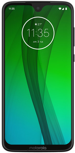 Смартфон Motorola MOTO G7 XT1962-5 Ceramic Black Qualcomm Snapdragon 632 (1.8)/4 Gb/64 Gb/6.2
