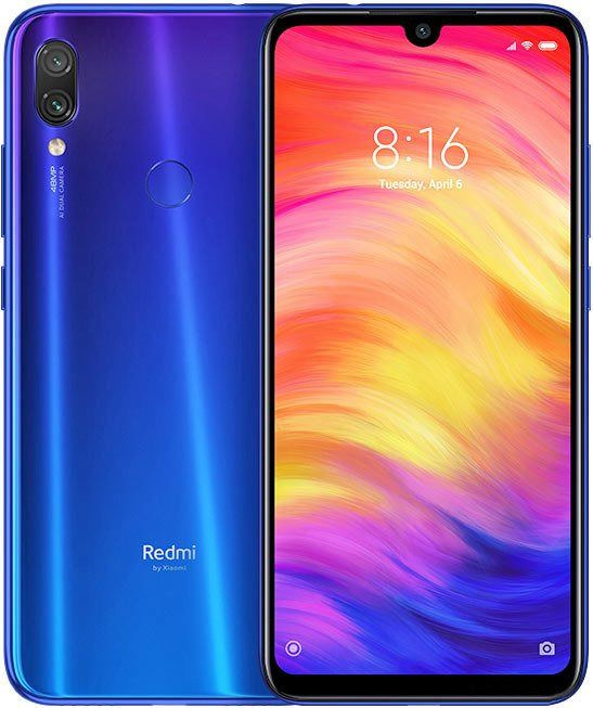 Смартфон Xiaomi Redmi Note 7 M1901F7G Neptune Blue Qualcomm Snapdragon 660 (2.2)/3 Gb/32 Gb/6.3 (2340 x 1080)/DualSim/LTE/NFC/BT/Android 9.0 смартфон tecno camon 11s cb7 midnight black черный mediatek mt6761 2 0 3 gb 32 gb 6 2 1520 x 720 dualsim lte bt android 9 0