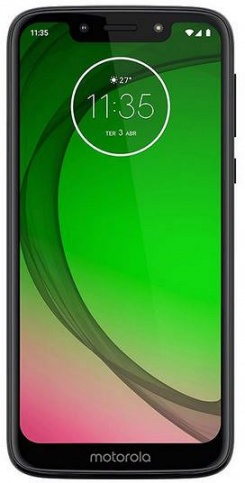 Смартфон Motorola MOTO G7 Play XT1952-1 Dark blue Qualcomm Snapdragon 632 (1.8)/2 Gb/32 Gb/5.7 (1512 x 720)/OneSim/LTE/BT/Android 9.0 смартфон tecno camon 11s cb7 midnight black черный mediatek mt6761 2 0 3 gb 32 gb 6 2 1520 x 720 dualsim lte bt android 9 0