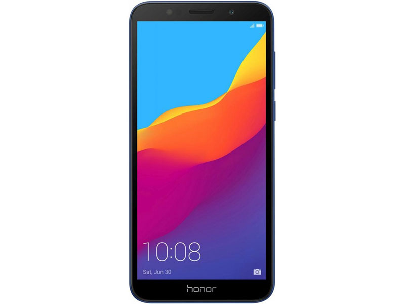Смартфон Honor 7A (DUA-L22) Blue MediaTek MT6739 (1.3)/2 Gb/16 Gb/5.45 (1440 x 720)/DualSim/LTE/BT 4.2/Android 8.1 смартфон tecno camon 11s cb7 midnight black черный mediatek mt6761 2 0 3 gb 32 gb 6 2 1520 x 720 dualsim lte bt android 9 0