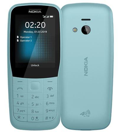 Мобильный телефон Nokia 220 4G DS TA-1155 Blue 16 Mb/24 Mb/2.4 (320 x 240)/DualSim/LTE/BT смартфон tecno la7 midnight black mediatek mt6737 1 3 2 gb 16 gb 6 1440 x 720 dualsim lte bt 4 0 android 8 1