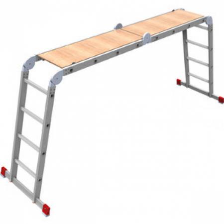 Олимп Четыре?хсекционная лестница-трансформер 4х3 2320403A цена