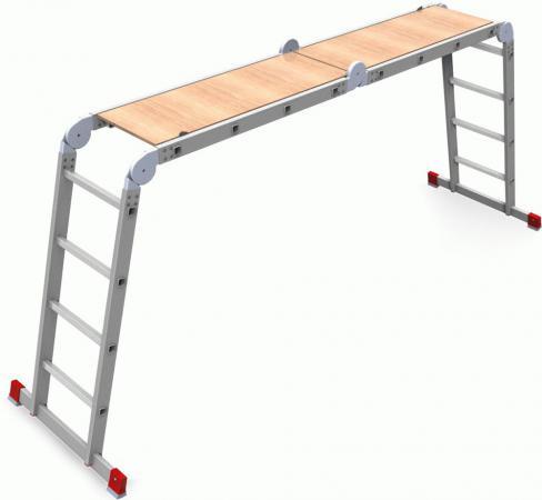 Олимп Четыре?хсекционная лестница-трансформер 4х4 2320404A цена