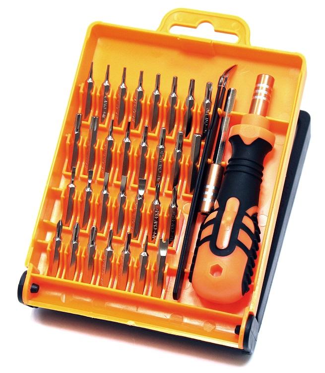 Отвертка с набором насадок 5bites TK004, 33 ПРЕДМЕТА smartbuy отверткаснабором