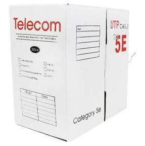 цена на Сетевой кабель бухта 305м UTP 5e Telecom TC1000C5EPro\5 EN(CU) Outdoor solid Медь, 4 пары, внешний