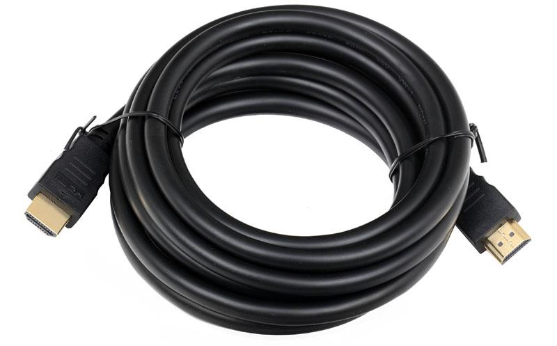 Кабель Telecom HDMI to HDMI (19M -19M) ver.1.4b, 3м, с позолоченными контактами (CG501D-3M)