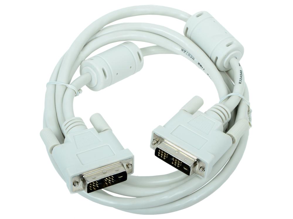 Фото - Кабель DVI-D Gembird CC-DVI-6C кабель usb 2 0 am microbm 1м gembird оранжевый cc musb2oe1m