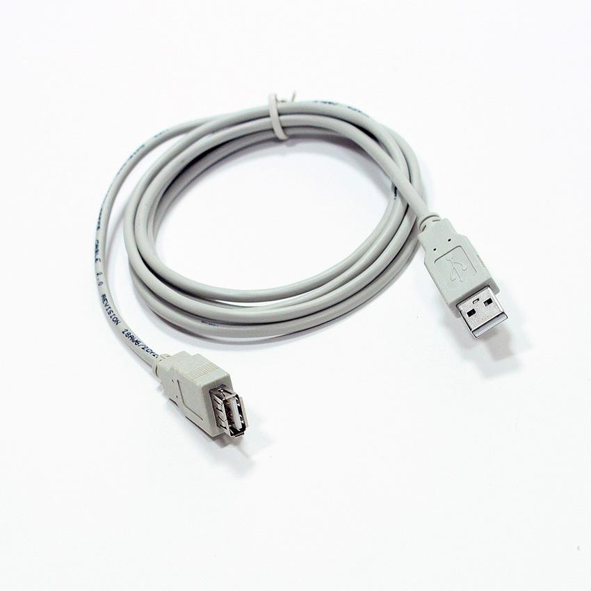 Кабель удлинительTelecom USB 2.0 AM/AF Grey 1.8м, (TC6936-1.8MO-GY) кабель aukey cb bal3