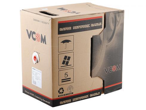 Фото - Сетевой кабель бухта 305м UTP 6 VCOM VNC1120 4 пары кабель