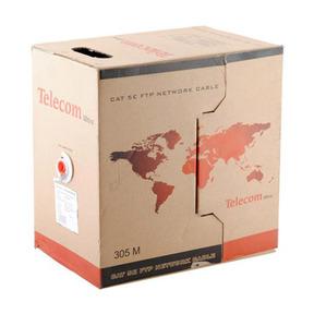 Кабель Telecom CU UTP 4 пары кат. 5e TC1000C5EN(CU) Indoor enlarge PVC (бухта 305м) ПВХ кабель telecom ultra pro utp кат 6 бухта 305м tu634057 омедненный