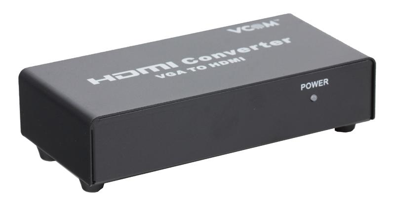 Конвертер VGA+аудио = HDMI, VCOM [DD491]