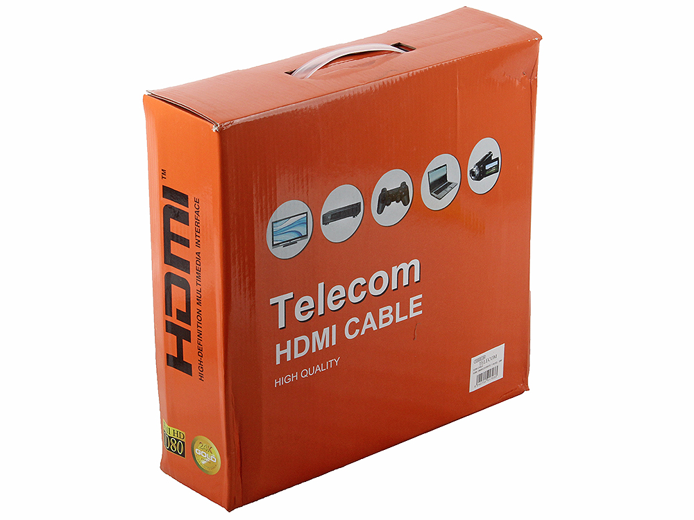 Фото - Кабель Telecom 30.0M_HDMI-19M--HDMI-19M_2F_1.4B переключатель hdmi 3 1 telecom tts6030