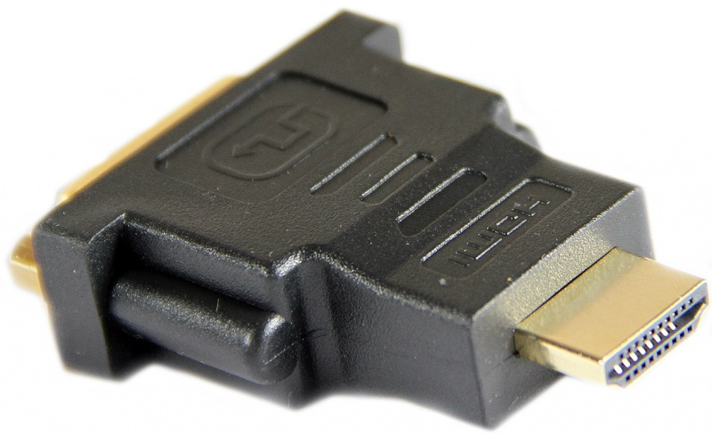 Переходник Aopen DVI-D 25F to HDMI 19M ACA311 позолоченные контакты