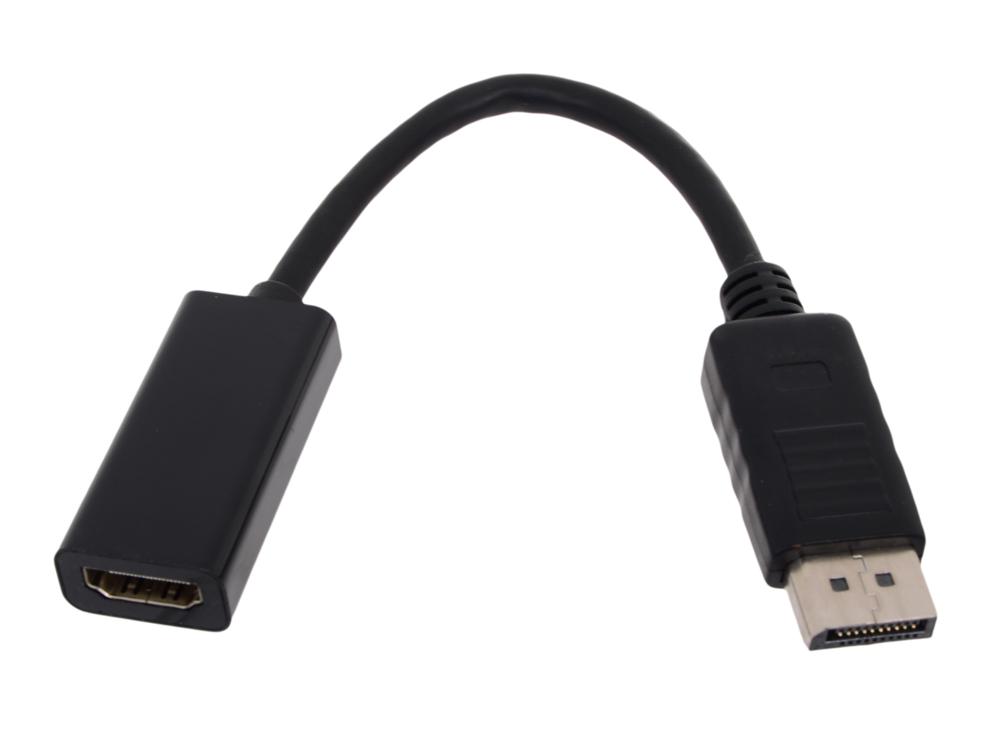 Кабель-переходник DP - HDMI-F 0.2m , Telecom (TA533)