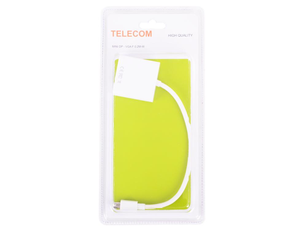 Кабель-переходник Mini DisplayPort (M) - VGA (F),Telecom (TA6070)