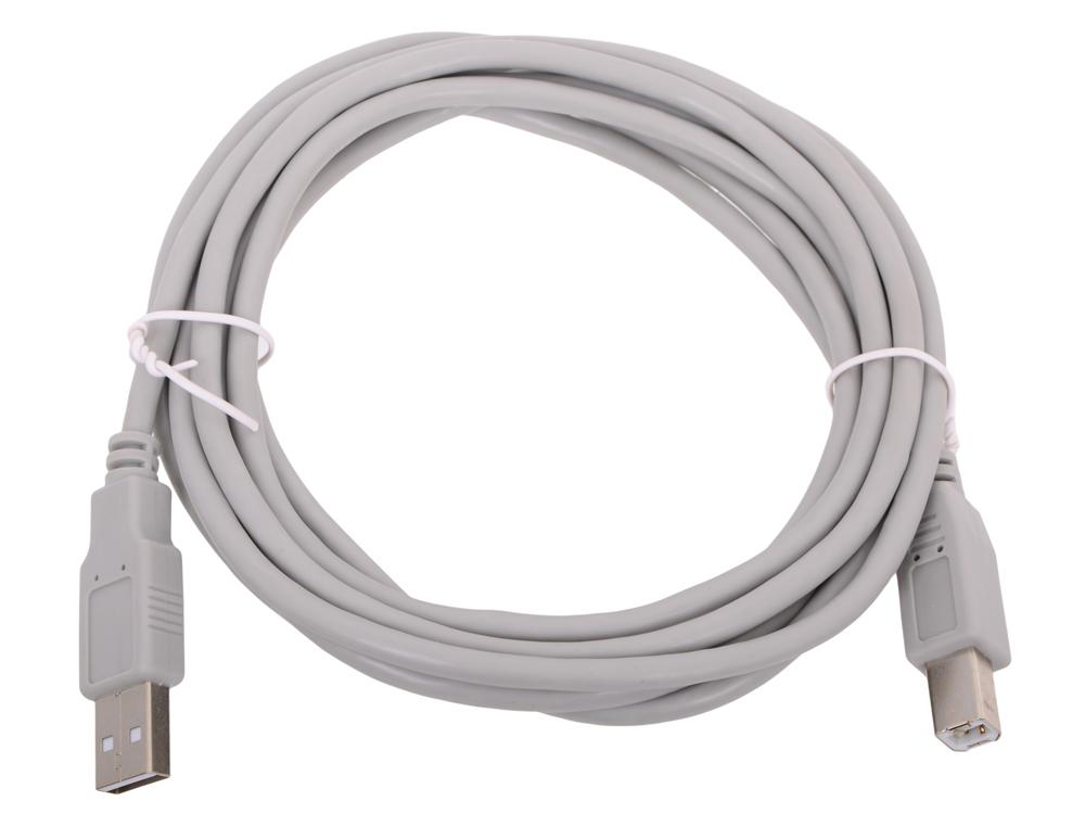 цена на Кабель Aopen USB2.0 AM/BM 3m (ACU201-3M)
