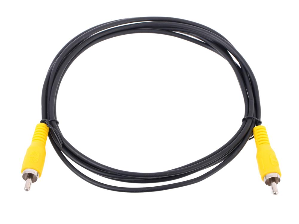 Фото - Кабель соединительный RCA (M) - RCA (M) черный 2m, Telecom (TAV4158-2M) кабель соединительный tp link tl ant24ec3s 3 метровый удлиняющий антенный кабель