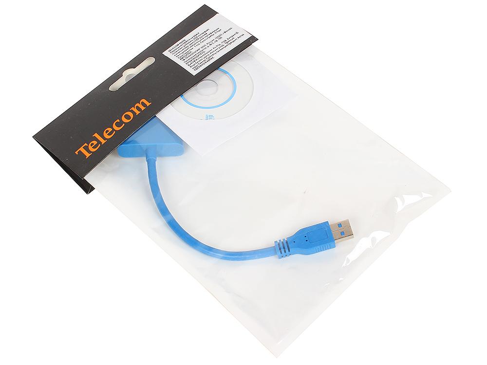 Переходник USB 3.0 - VGA-F Telecom TA710 переходник telecom hdmi vga ta558