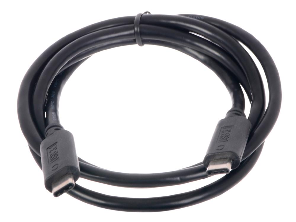 Кабель USB Cablexpert, USB3.1TypeC/USB 3.1 Type C, 1м, пакет CCP-USB3.1-CMCM-1M кабель type c 1м cablexpert ccp usb2 amcm 1m круглый черный