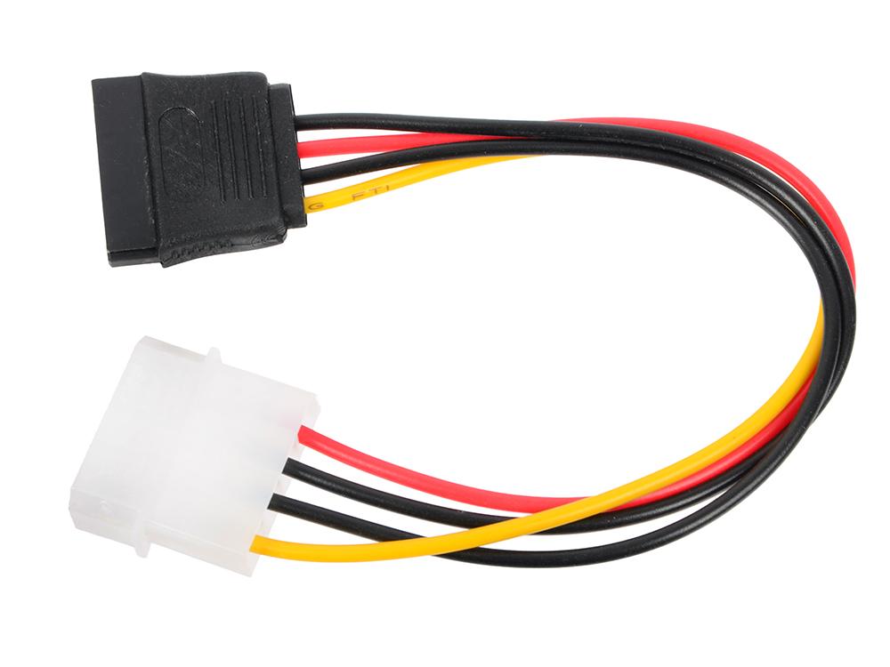 Переходник питания SATA-устройств (1big -1SATA) VCOM VPW7571 переходник sata 8 pin