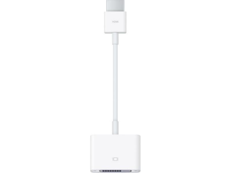 Кабель Apple HDMI to DVI MJVU2ZM/A
